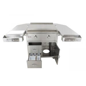 Blaze GrillsBlaze 30-Inch Griddle Cart Shelving Kit, With Fuel type - Propane