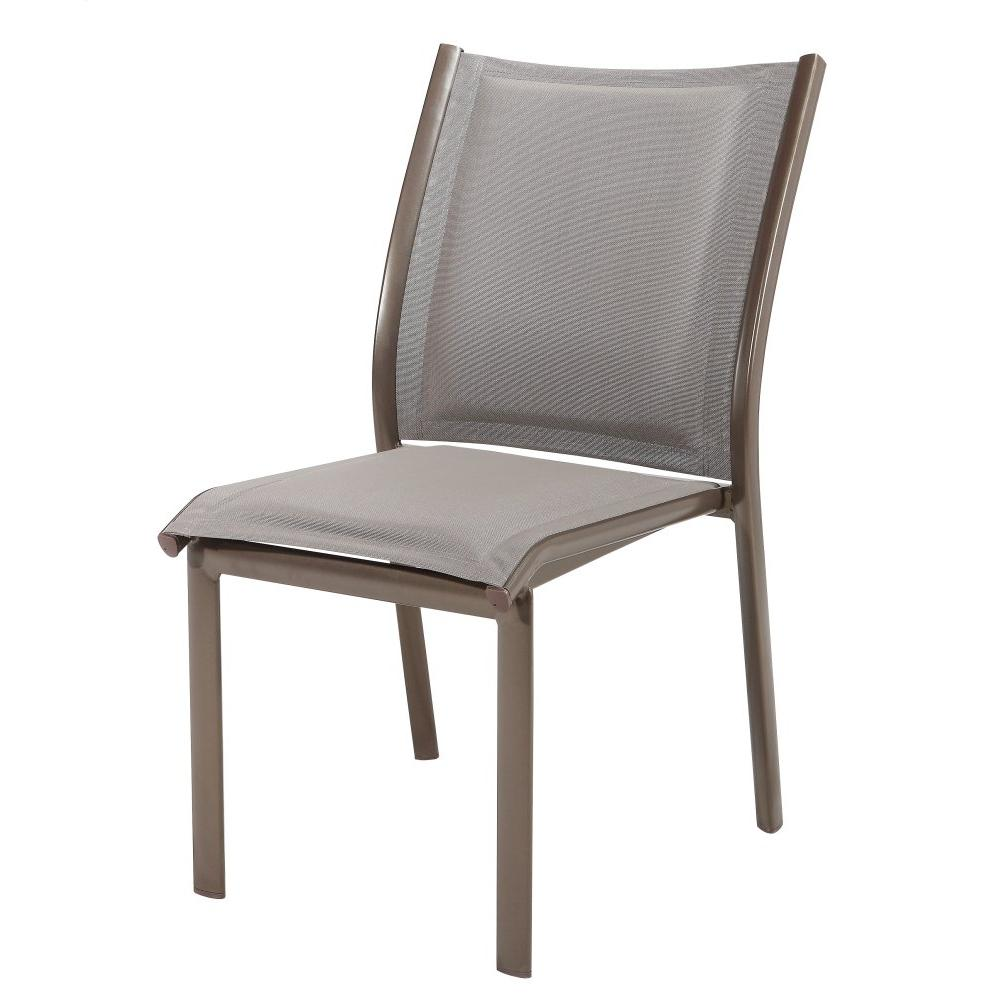 Emerald Home Talon Padded Sling Side Chair Bronze Od1311-23-2