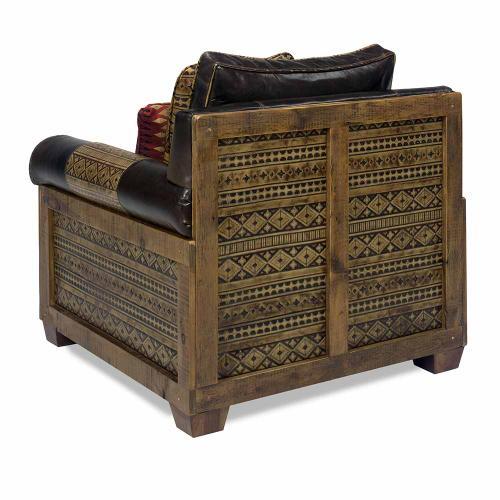 Remington Open Chair - Navajo