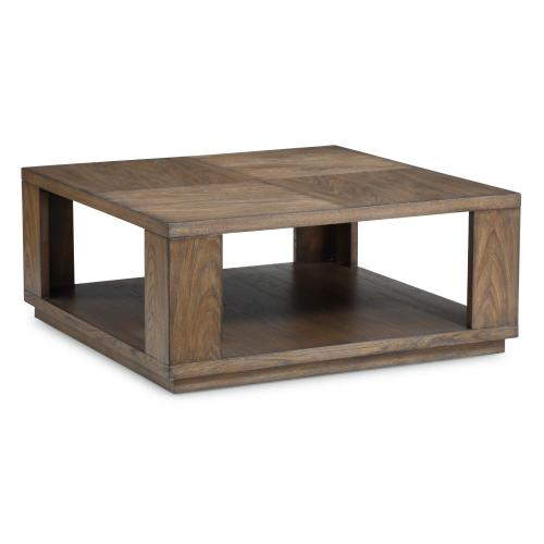 Maximus Square Coffee Table with Casters