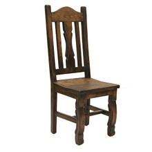 Ox Yoke Chair with Wood Seat