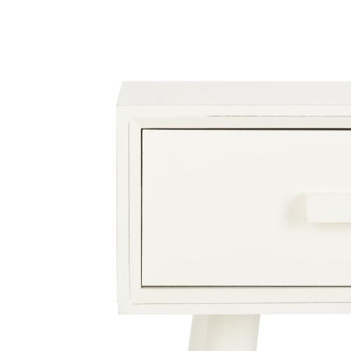 Safavieh - Dean 2 Drawer Console - Vintage White