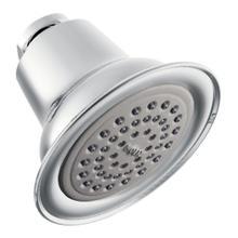 "See Details - Moen Chrome one-function 3-1/2"" diameter spray head standard"