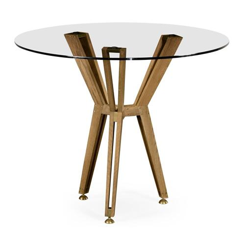 "Architectural 36"" circular centre table"