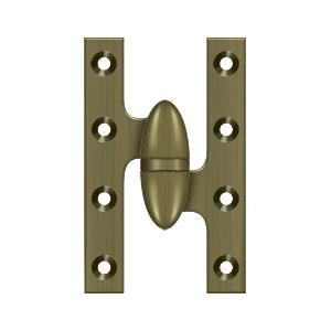 "Deltana - 5"" x 3-1/4"" Hinge - Antique Brass"