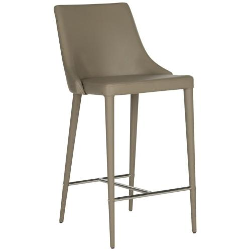 Summerset Counter Stool - Taupe / Chrome