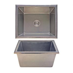 Lago Sink - SK418 Silicon Bronze Brushed Product Image