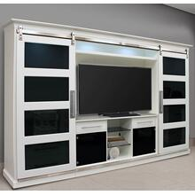 CELESTIAL Sliding Door Entertainment Wall