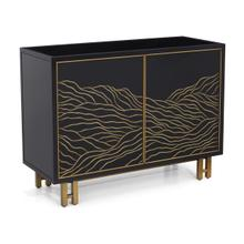 See Details - Desert Sand Two-Door Cabinet
