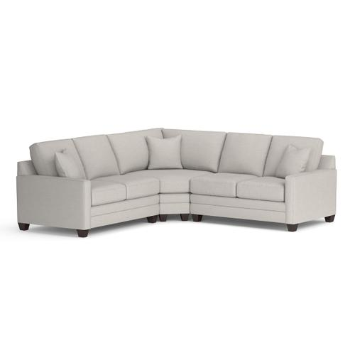 Gallery - Carolina Thin Track Arm L Sectional