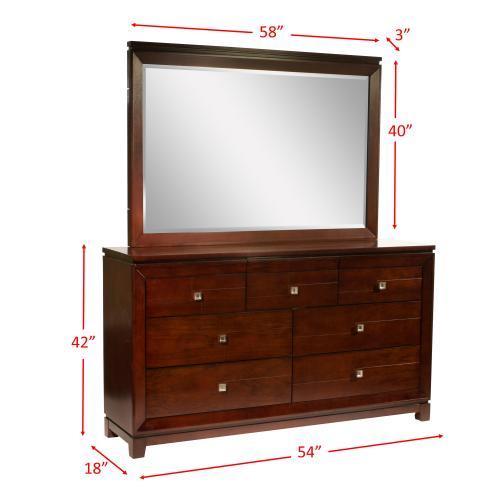 Elements - London Dresser & Mirror