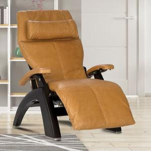 Perfect Chair ® PC-610 Omni-Motion Classic - Dark Walnut - Sycamore Premium Leather