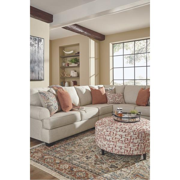 3-piece Sectional With Ottoman
