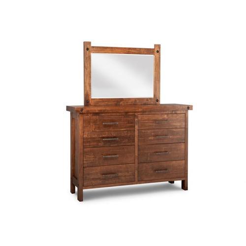 Handstone - Rafters 8 Drawer High Dresser