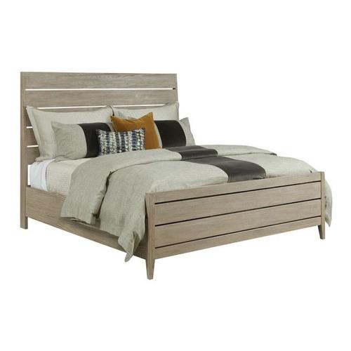 Kincaid Furniture - Incline Oak Queen Bed High Footboard - Complete