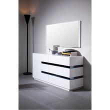 Modrest Polar - Contemporary White Gloss Dresser