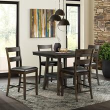 Laredo Counter Dining Set - Counter Table and 4 Barstools