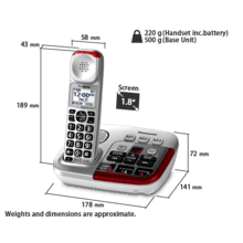 KX-TGM490 Cordless Phones