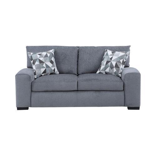 Porter International Designs - Clayton Gray Sofa, Loveseat & Chair, U5345