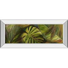 """Green For Ever Il"" By Patricia Pinto Mirror Framed Print Wall Art"