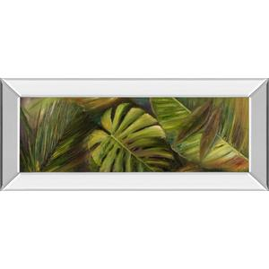"""""""Green For Ever Il"""" By Patricia Pinto Mirror Framed Print Wall Art"""