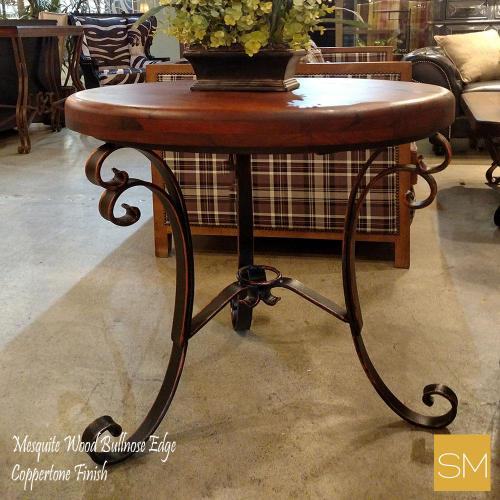 Mesquite Wood Large Occasional Table
