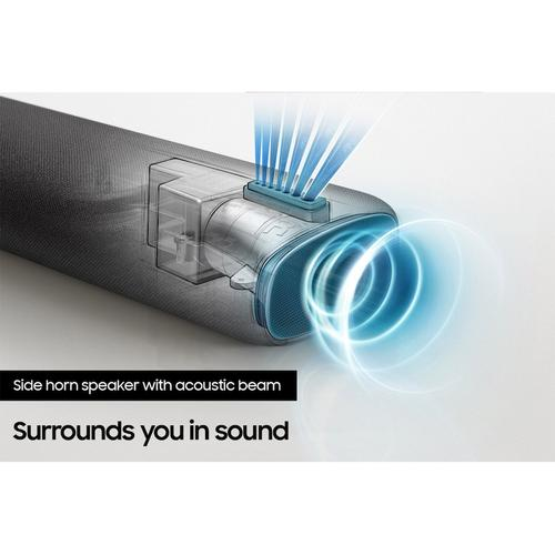 Samsung - HW-S60A 5.0ch All-in-One Soundbar w/ Acoustic Beam and Alexa Built-in (2021)