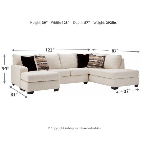 Cambri 2-piece Sectional With Chaise