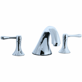 Brookhaven - 3pc Roman Tub Filler Trim - Polished Nickel
