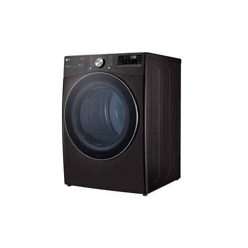 7.4 cu. ft. Ultra Large Capacity Smart wi-fi Enabled Front Load Dryer with TurboSteam™ and Built-In Intelligence