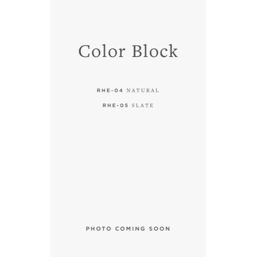 RHE-06 Color Block / 02