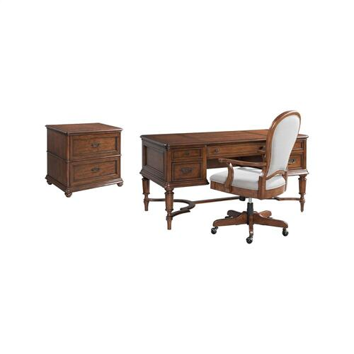Clinton Hill - Lateral File Cabinet - Classic Cherry Finish