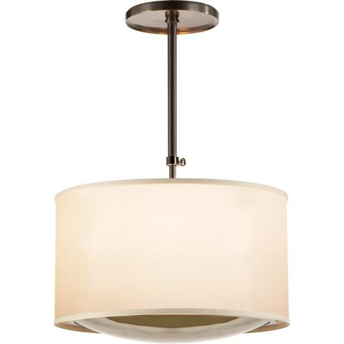 Visual Comfort BBL5025BZ-S Barbara Barry Reflection 4 Light 24 inch Bronze Hanging Shade Ceiling Light