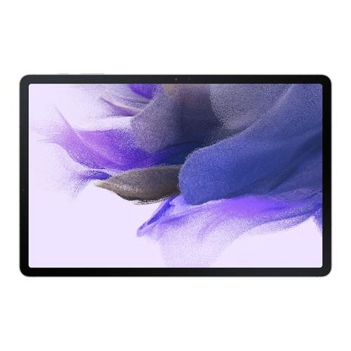 Samsung - Galaxy Tab S7 FE, 128GB, Mystic Silver (Wi-Fi)