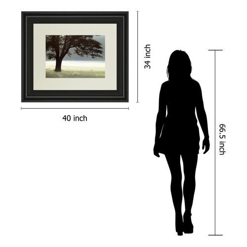 "Gallery - ""Enlighten Me"" By Assaf Frank Framed Print Wall Art"