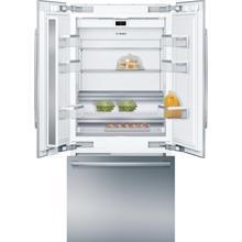 View Product - Benchmark® Built-in Bottom Freezer Refrigerator 36'' flat hinge B36BT935NS