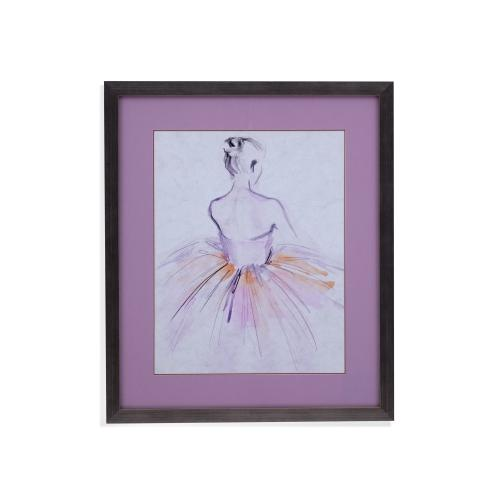 Watercolor Ballerina II