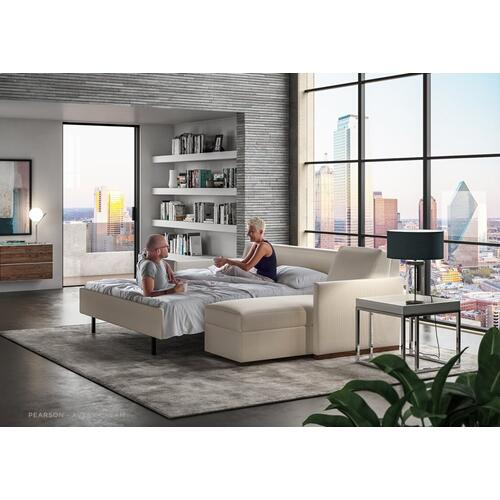 Pearson 3 Cushion Sleeper Sofa - American Leather