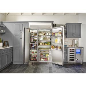 True Residential15 Inch Overlay Panel Door Left Hinge Clear Ice Machine