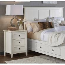 Paragon Nightstand with White Finish