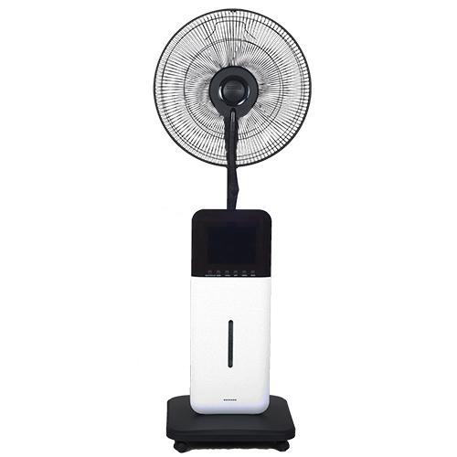 Sunheat - CoolZone Dry Mist Bluetooth Speaker Fan - White