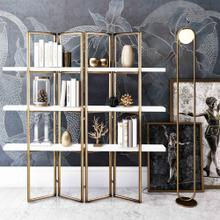 See Details - Kupa Concrete Bookcase