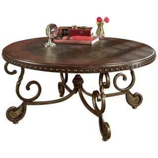 See Details - Rafferty Round Cocktail Table