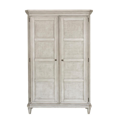 Pulaski Furniture - Linen Grace 4 Drawer Armoire