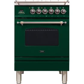 "24"" Inch Emerald Green Natural Gas Freestanding Range"