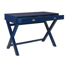 See Details - Washburn Chic Campaign Writing Desk