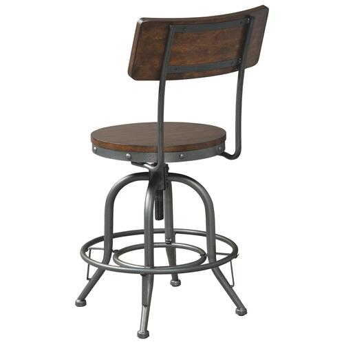 Swivel Adjustable Height Barstool