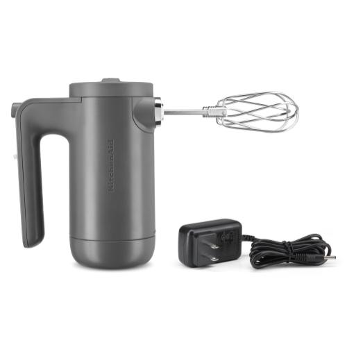 Cordless 7 Speed Hand Mixer - Matte Charcoal Grey