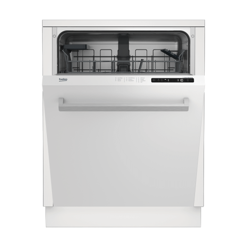 Tall Tub White Dishwasher, 14 place settings, 48 dBa, Top Control