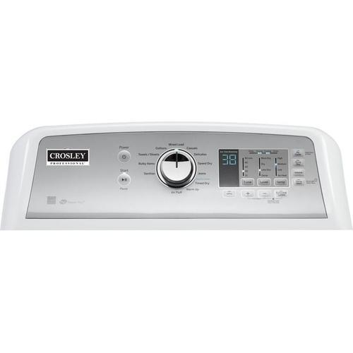 Crosley Professional Dryer : - Diamond Gray & White